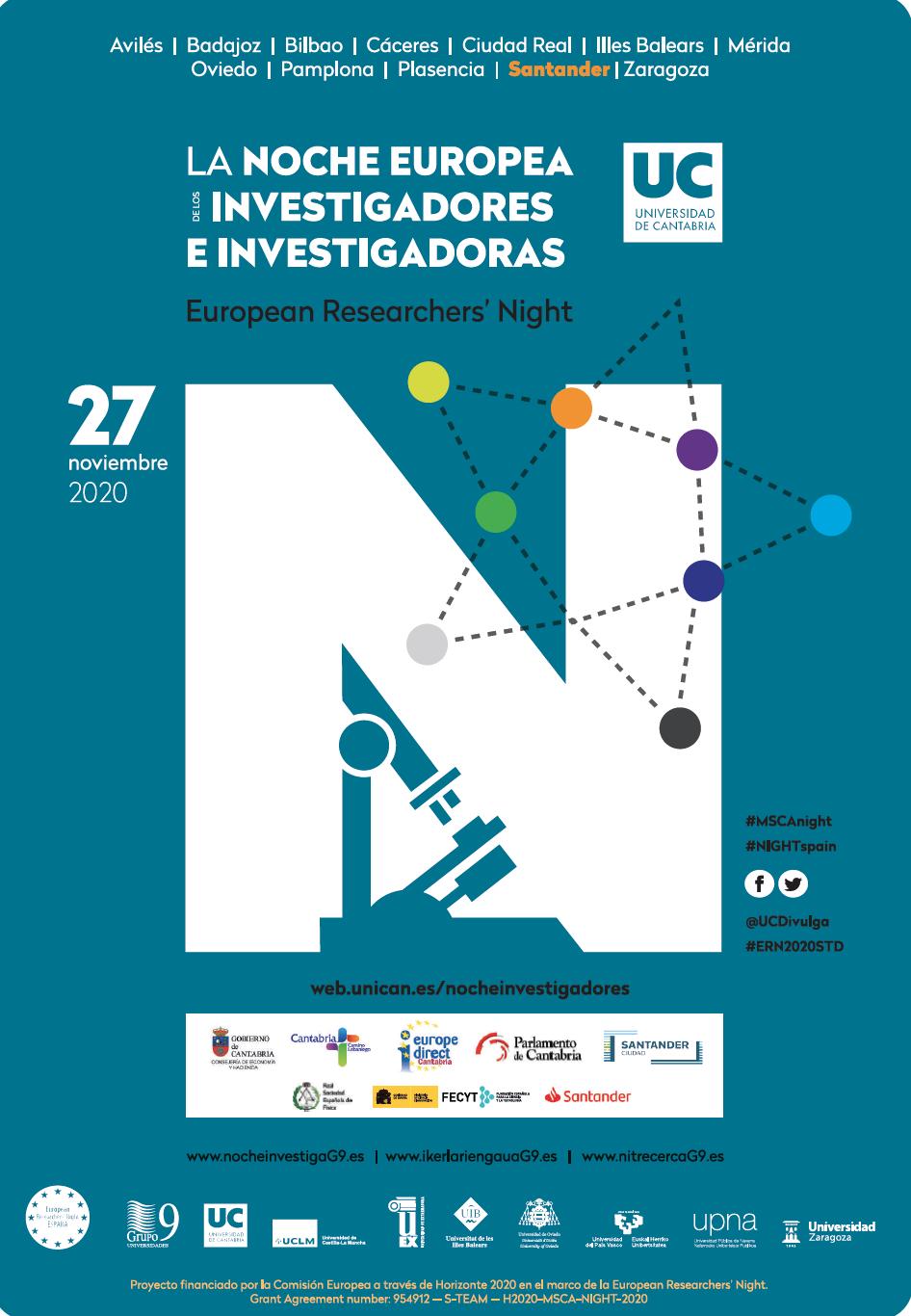 La noche europea de los investigadores e investigadoras